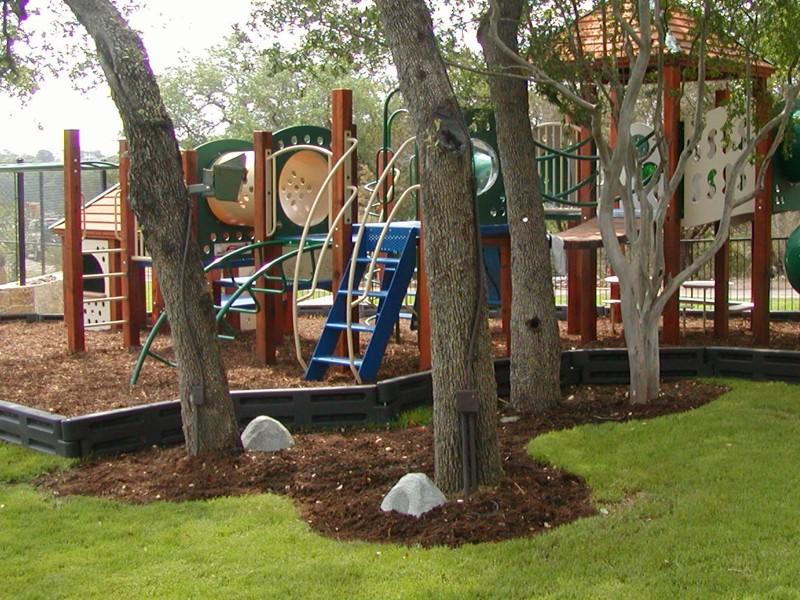 Plastic Border Commercial Playground Equipment