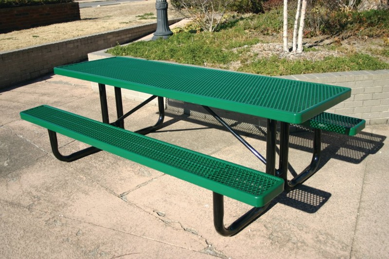 Picnic tables commercial playground equipment for 12 foot picnic table
