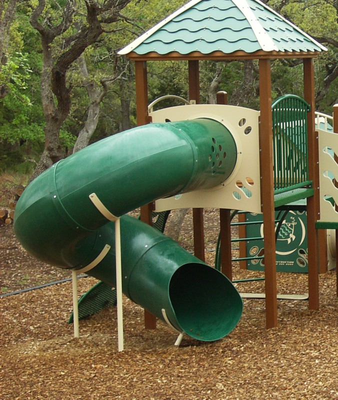 Commercial Playground Spiral Tube Slide Commercial