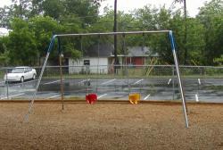 Toddler 1 Bay Bipod Swing