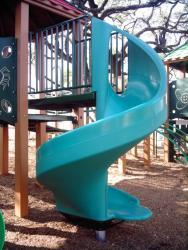 Open Spiral Slide