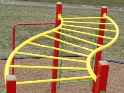 """S"" Shaped Hanging Bars"